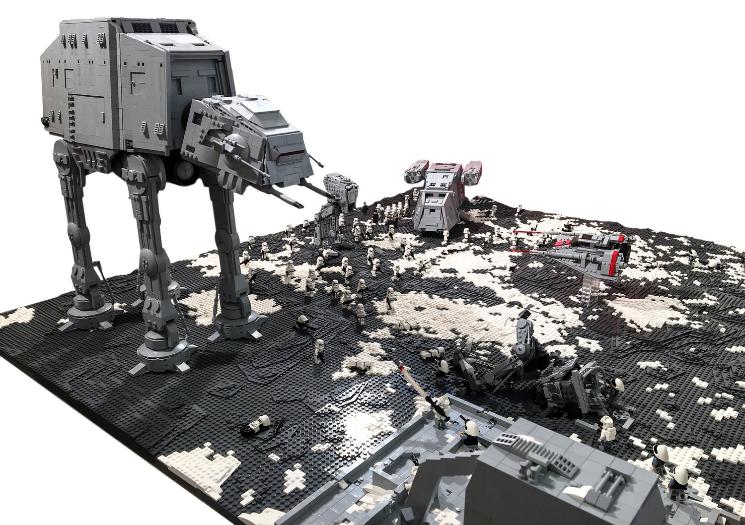 How To Build A Lego Star Wars Battlefield