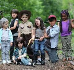 The Walking Dead Kids Cosplay Photoshoot