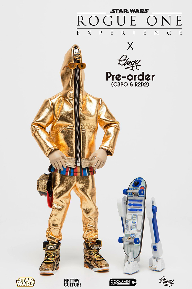 Pimped Up C-3PO and R2-D2 Star Wars Action Figures