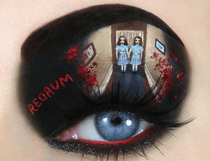 Eyelid Makeup Art