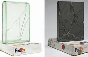 Artist Used FedEx For 9 Years To Ship Glass Boxes To Create Shattered Sculptures