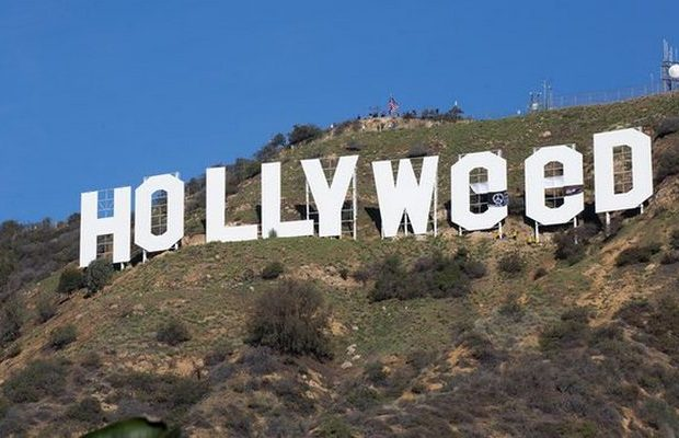 Prankster Changed Hollywood Sign To Hollyweed