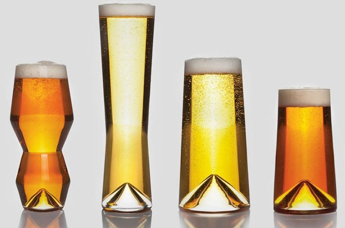 Modern Beer Glasses