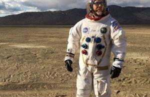 Replica Apollo A7L Spacesuit Made By Adam Savage