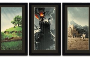 LORD OF THE RINGS Trilogy Artwork