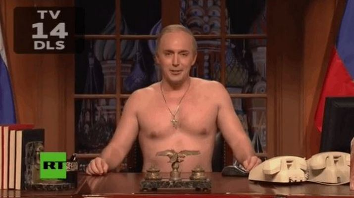 SNL: Putin Praise The Inauguration Of Donald Trump