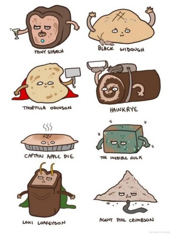 Bread Avengers