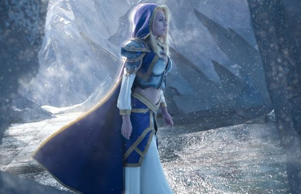 WORLD OF WARCRAFT'S Jaina Cosplay