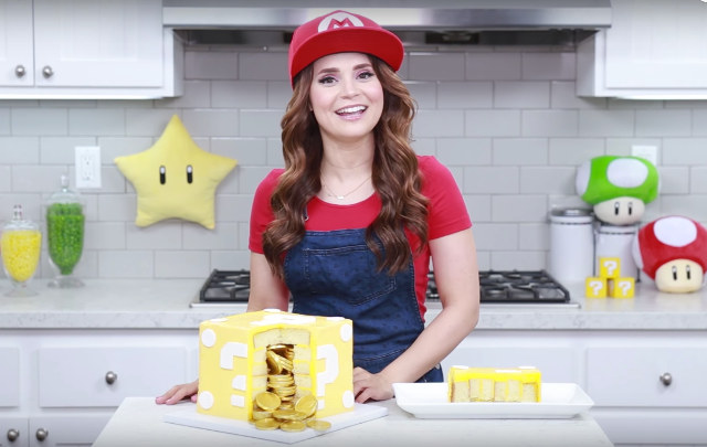 Mario Surprise Cake Filled With Edible Gold Coins