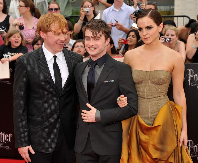 Daniel Radcliffe, Emma Watson, and Rupert Grint in Talks for New HARRY POTTER Trilogy