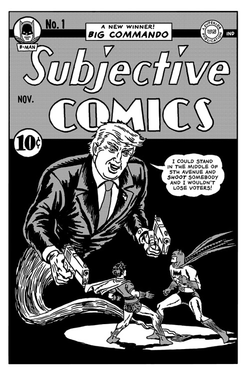 Donald Trump Quotes Turned Into Comic Book Covers