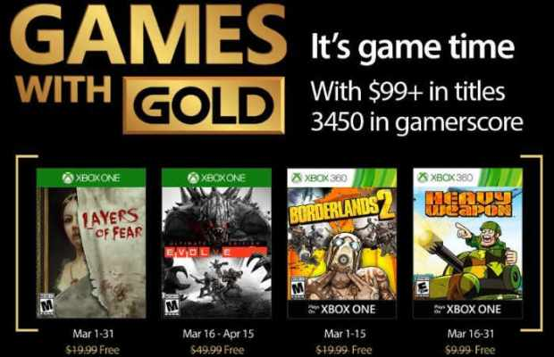 Xbox Live Games For March