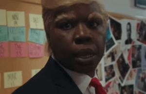 Leslie Jones Played Donald Trump