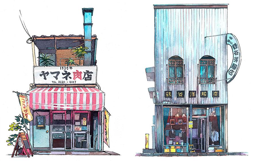Tokyo Storefronts