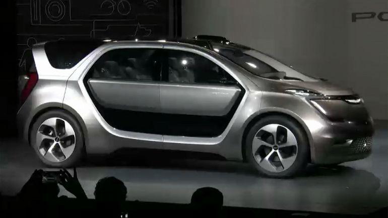 Chrysler Portal concept road warrior