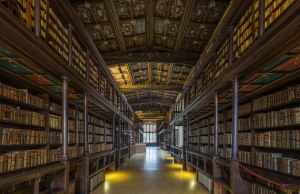 Oxford University Got The Oldest Library in Europe