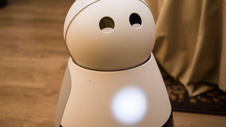 Kuri the robot nanny