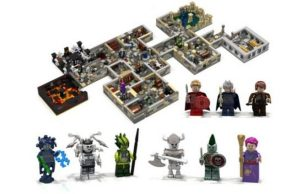 Dungeon Master Lego Set