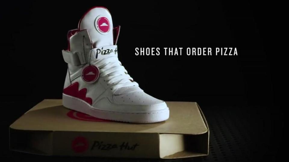 Pizza Hut Shoes