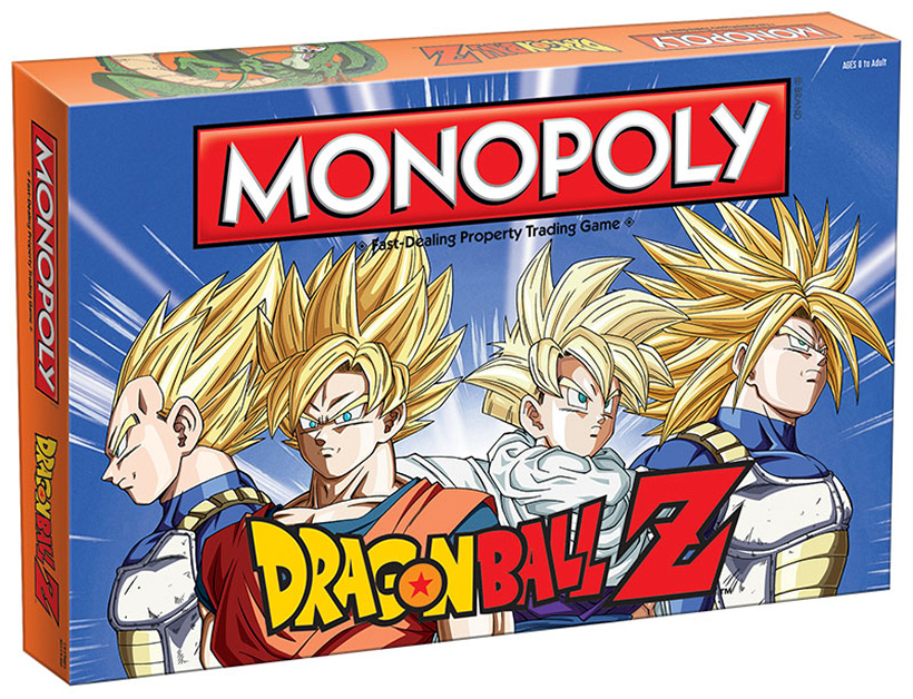 DRAGON BALL Z Collectible Monopoly