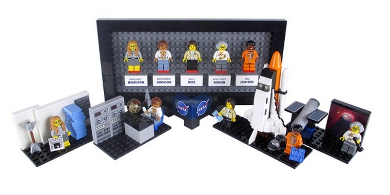 Lego Set Honoring Women Of NASA