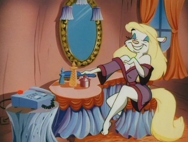 Minerva Mink, Animaniacs.