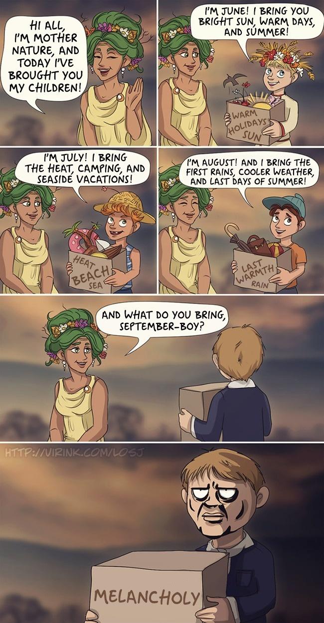 Sarcastic Comic Strips