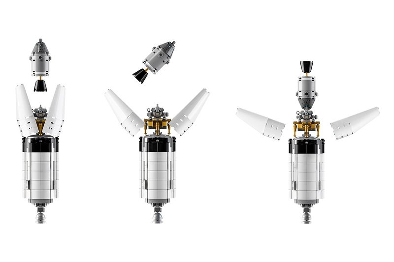 Apollo Saturn V Lego set