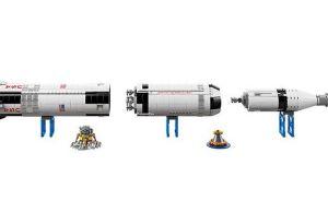 Apollo Saturn V Lego set