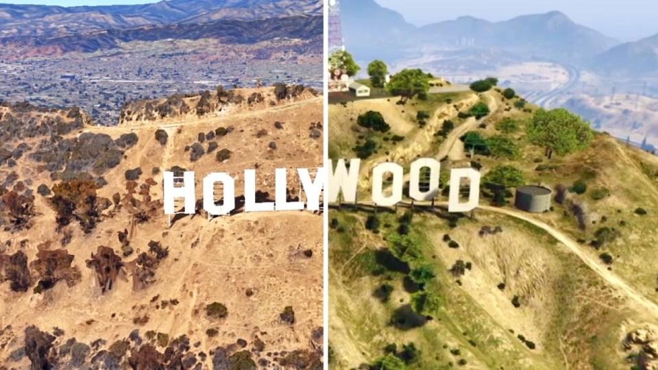 Grand Theft Auto VS. Google Earth