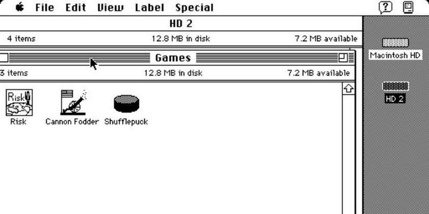 Old-School Mac OS