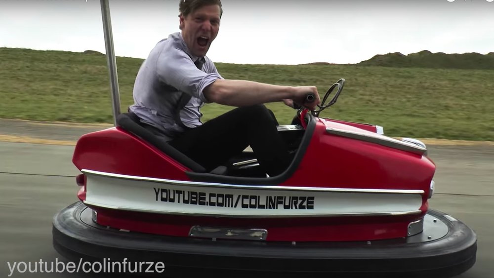 Insane Inventor Colin Furze Builds World's Fastest Bumper Car