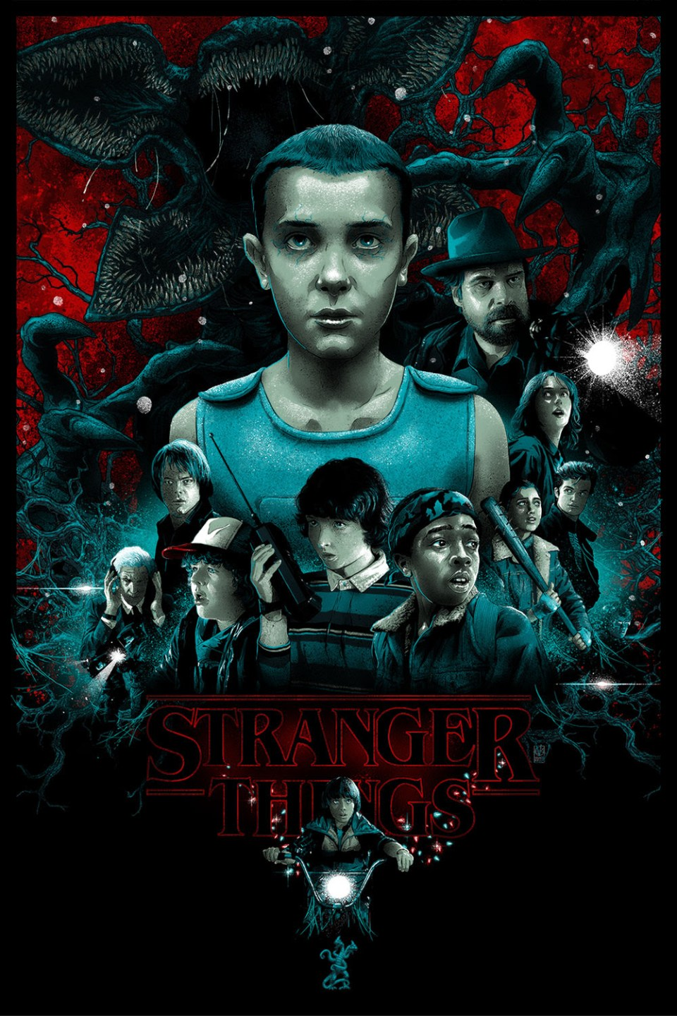Stranger Things Art