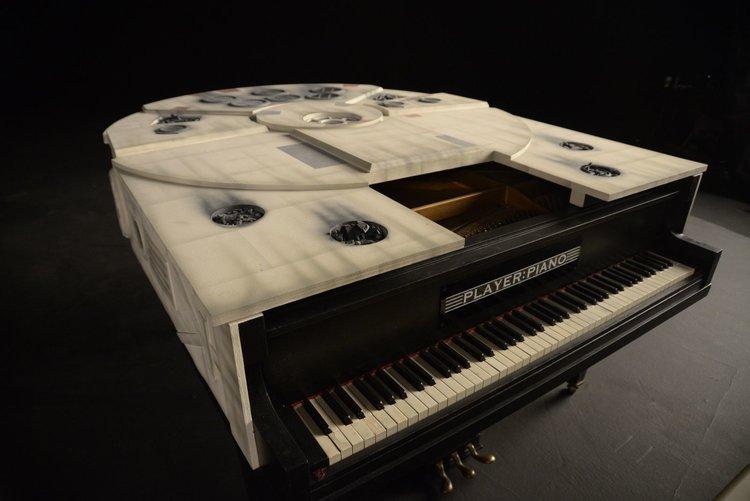 Millennium Falcon-Themed Piano