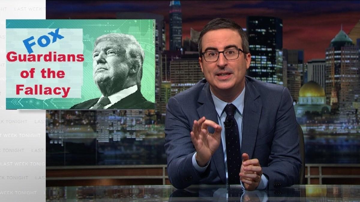 John Oliver - Impeach Donald Trump