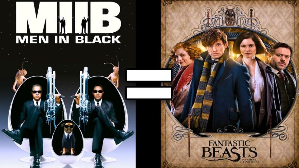 Men in Black 2 & Fantastic Beasts