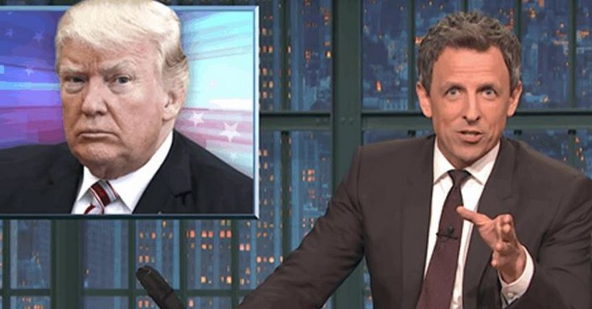 Seth Meyers Points At One Campaign Promise That Donald Trump Kept