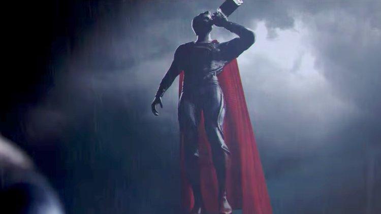 Drunk Superman