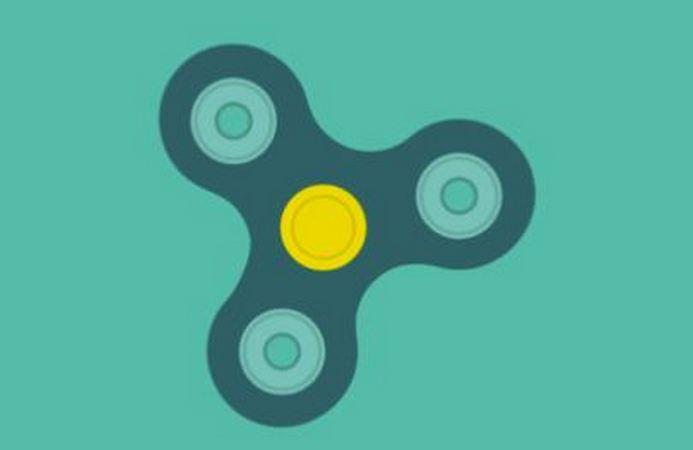Google virtual fidget spinner