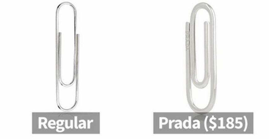 Prada-paperclip