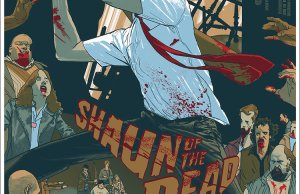 SHAUN OF THE DEAD Mondo Poster