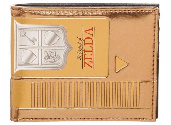 Nintendo Zelda Gold Cartridge Wallet
