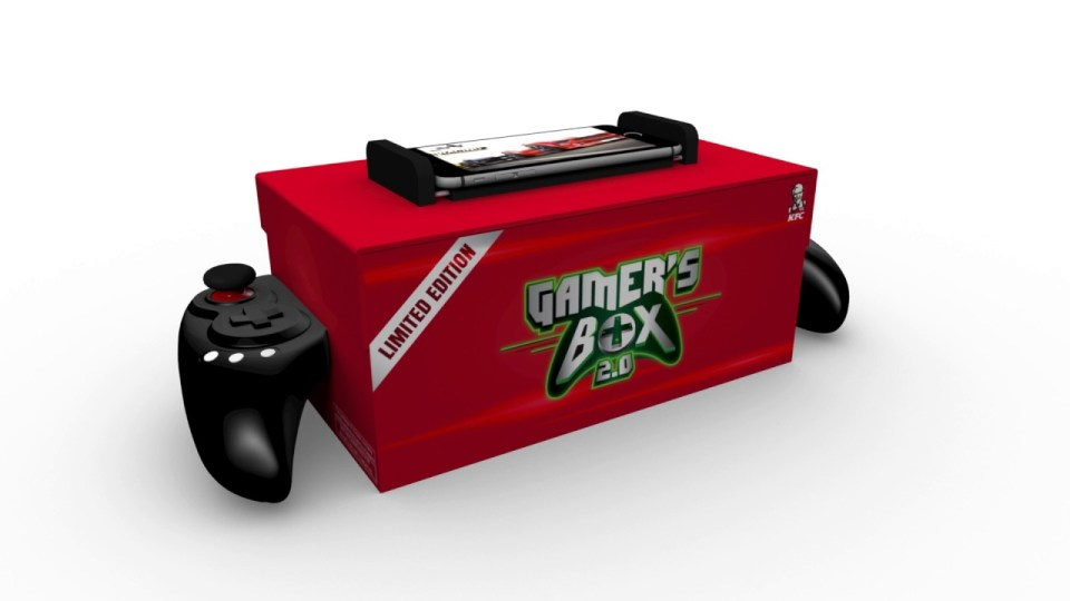 KFC Chicken Box Is A Game Controller