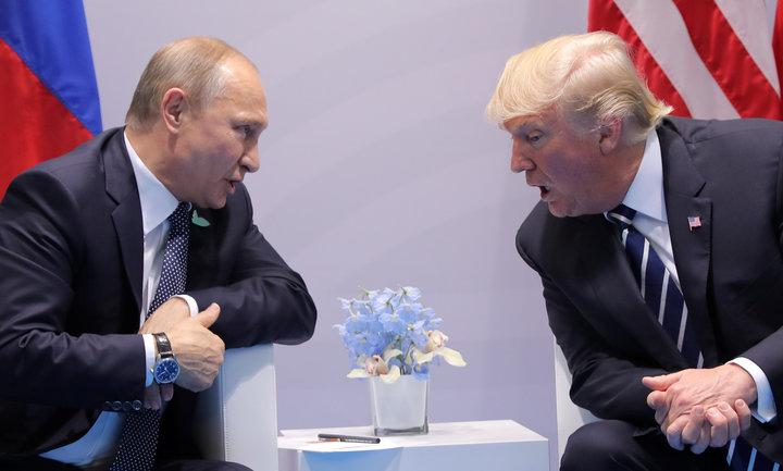 Trump's G-20 Meeting With Putin