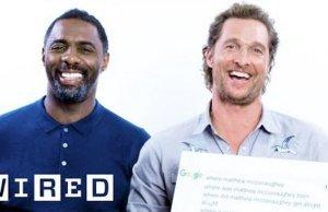 Matthew McConaughey and Idris Elba