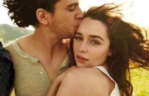 Emilia Clarke And Kit Harington Kissing