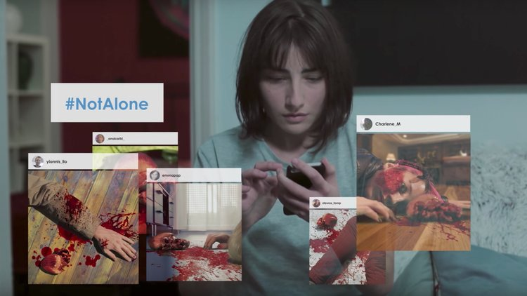 Social Media Becomes a Nightmare in a Horror Short Film #NotAlone
