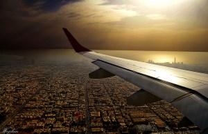 Photo Through A Plane Window