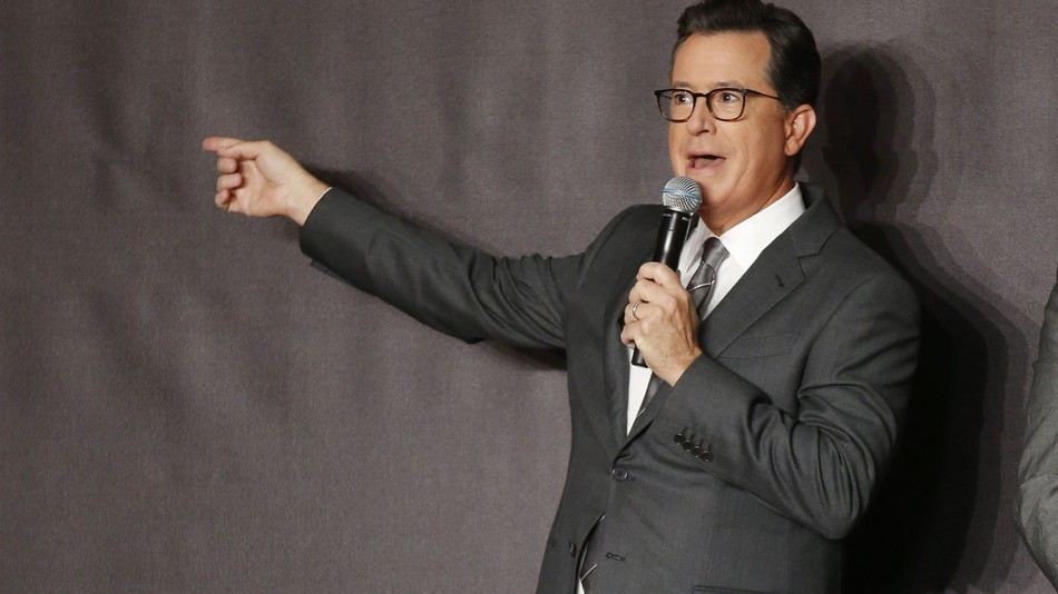 Stephen Colbert Roasts Donald Trump During Emmys
