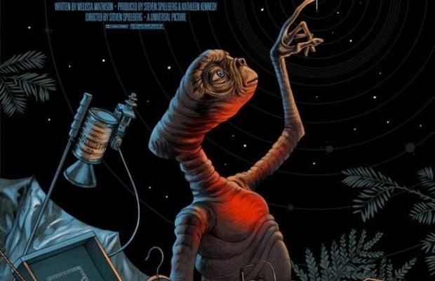 E.T. Mondo Poster Art
